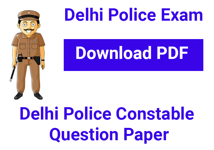 Delhi Police Constable Question Paper For 2020 Examination